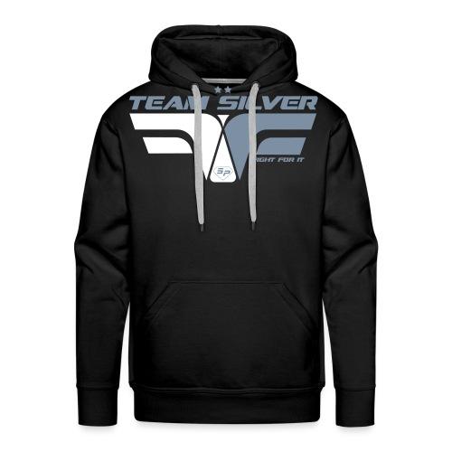 ffi_silver_face - Sweat-shirt à capuche Premium pour hommes