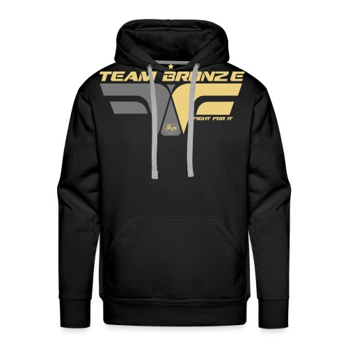 ffi_bronze_face - Sweat-shirt à capuche Premium pour hommes