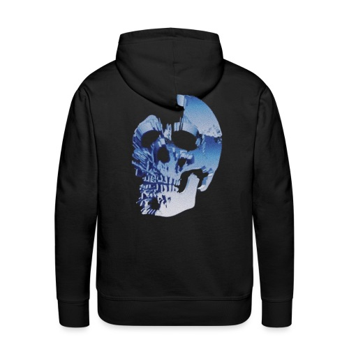 """ SKULL "" ( CHOOSE BLACK ) - Premiumluvtröja herr"