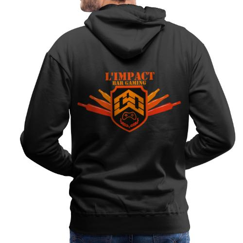 Impact Bar Gaming Store - Sweat-shirt à capuche Premium pour hommes