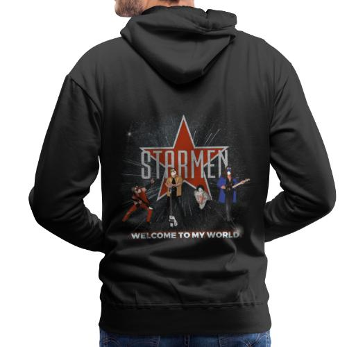 Starmen - Welcome To My World - Men's Premium Hoodie