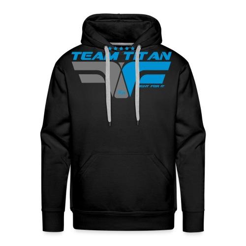 ffi_titan_face - Sweat-shirt à capuche Premium pour hommes