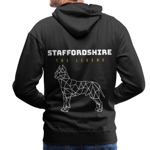 Staffordshire Hund Dog - Männer Premium Hoodie