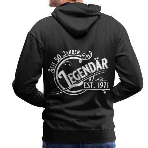 50 Jahre Legendär 50. Geburtstag Vintage Gift - Männer Premium Hoodie