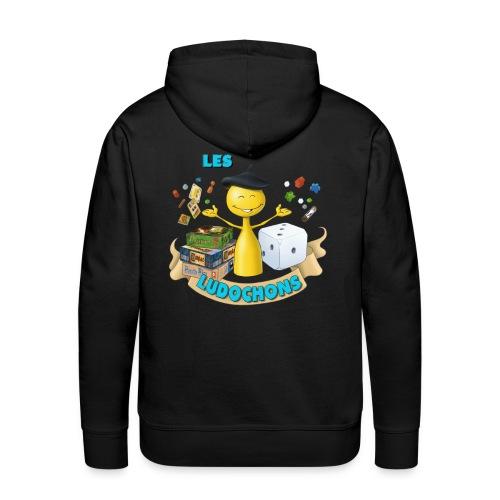 logo1bis gif - Sweat-shirt à capuche Premium pour hommes