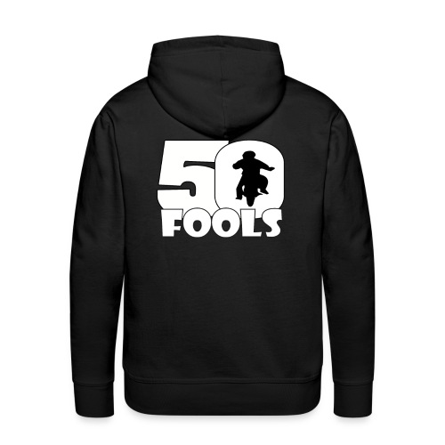 50logo png - Mannen Premium hoodie