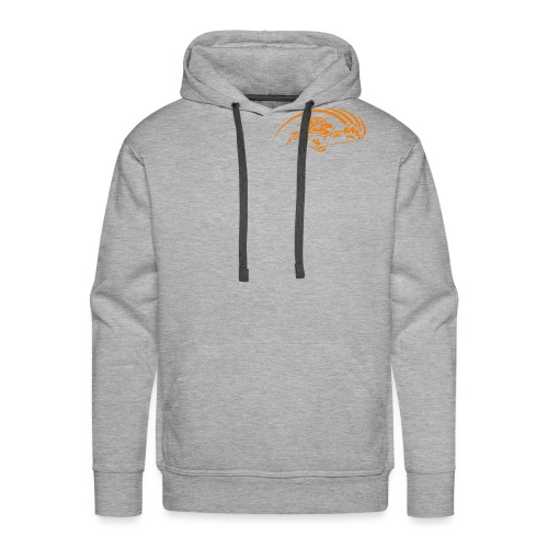 logo orange nu - Sweat-shirt à capuche Premium pour hommes