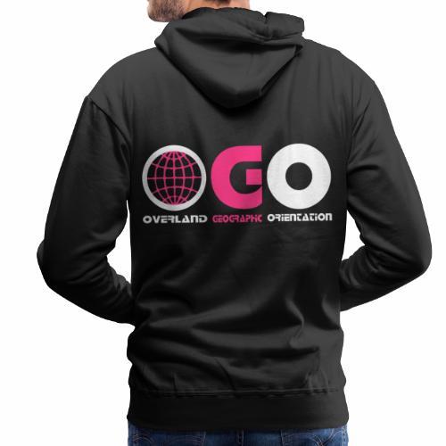 OGO-25 - Sweat-shirt à capuche Premium pour hommes