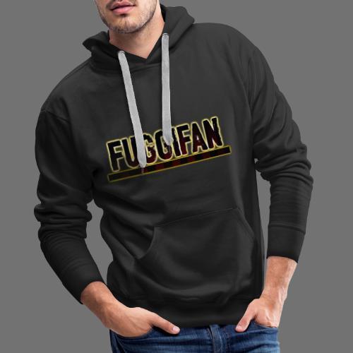 Fuggifan Schrftzug (Gelb) - Männer Premium Hoodie