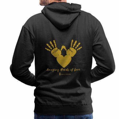 FORCE DE L' AMOUR - Sweat-shirt à capuche Premium pour hommes
