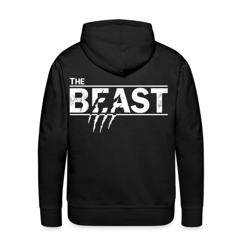 The beauty and the beast - Männer Premium Hoodie