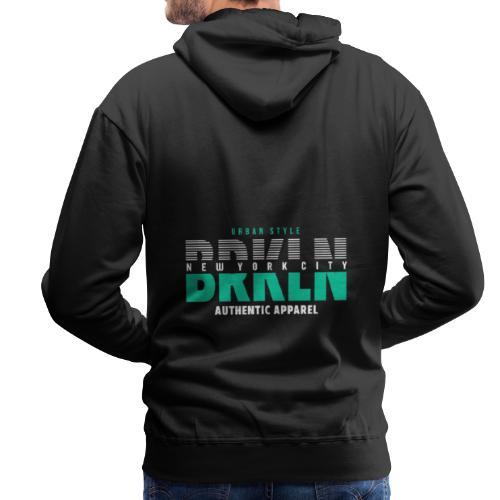 Brooklyn Urban Style - Männer Premium Hoodie