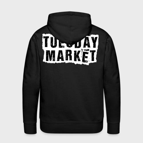 Logo Tuesday Market - Männer Premium Hoodie