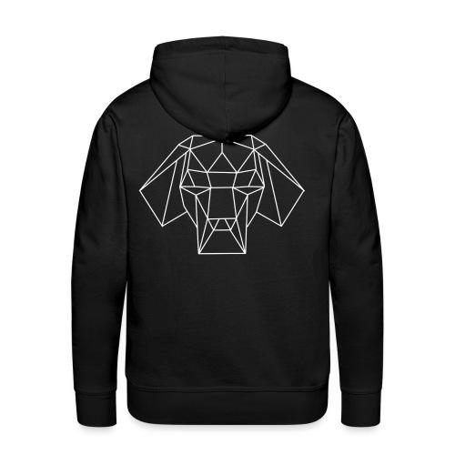 LOGO Dudes of groove society - Sweat-shirt à capuche Premium pour hommes