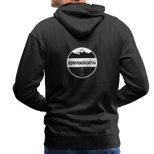 Kurvensüchtig - Männer Premium Hoodie