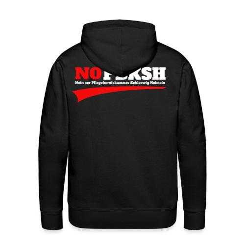 #nopbksh | Nein zur Pflegeberufskamer SH | Demo - Männer Premium Hoodie