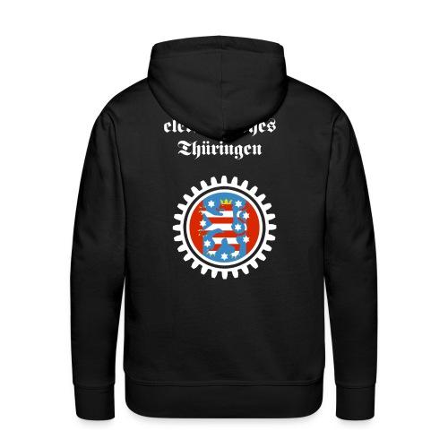 Elektronisches Thüringen - Männer Premium Hoodie
