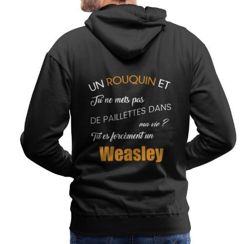 weasley - Sweat-shirt à capuche Premium pour hommes
