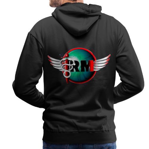 IRM V003xs - Sweat-shirt à capuche Premium pour hommes