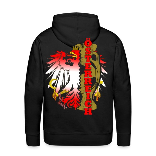 Öesterreich Heimat Fussball Fan Nationalteam - Männer Premium Hoodie
