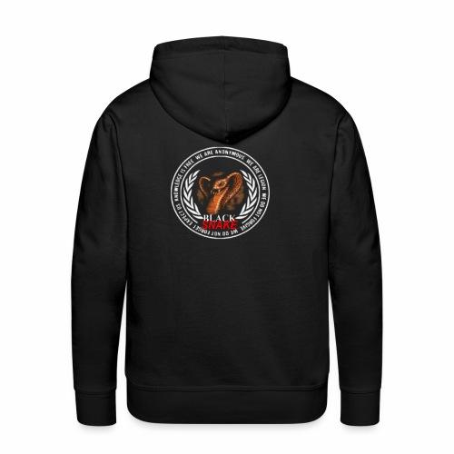bohback - Sweat-shirt à capuche Premium pour hommes