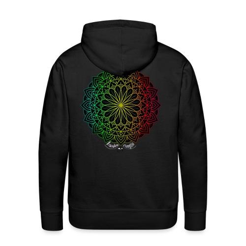 Mystic Flower Mandala - Männer Premium Hoodie