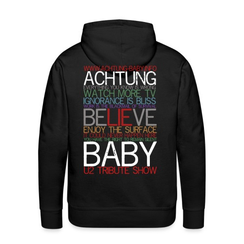 Everything you know is wrong - Männer Premium Hoodie