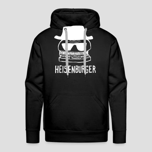 Heisenburger blanc png - Sweat-shirt à capuche Premium pour hommes