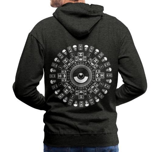 Speaker Mandala - Men's Premium Hoodie