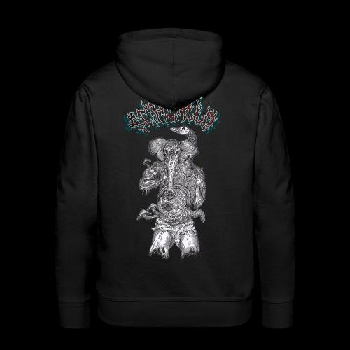 Rotten Ganesh - Felpa con cappuccio premium da uomo
