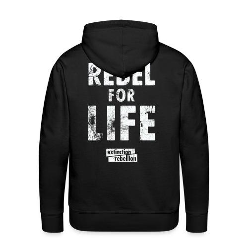 extinction rebellion just rebel - Männer Premium Hoodie
