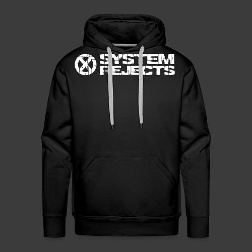 SR Banner White Vector - Men's Premium Hoodie