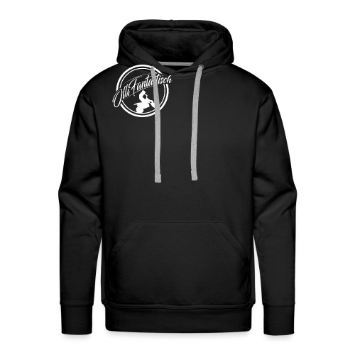 Logo Weis - Männer Premium Hoodie