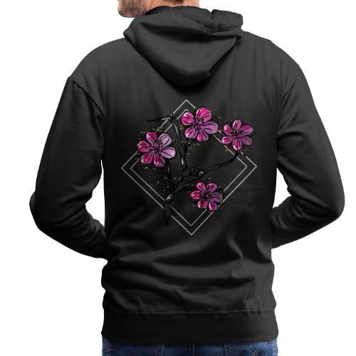 Flower (日本庭園) - Herre Premium hættetrøje