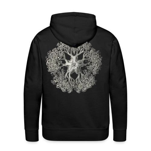 psychedelic art stitch - Sweat-shirt à capuche Premium pour hommes