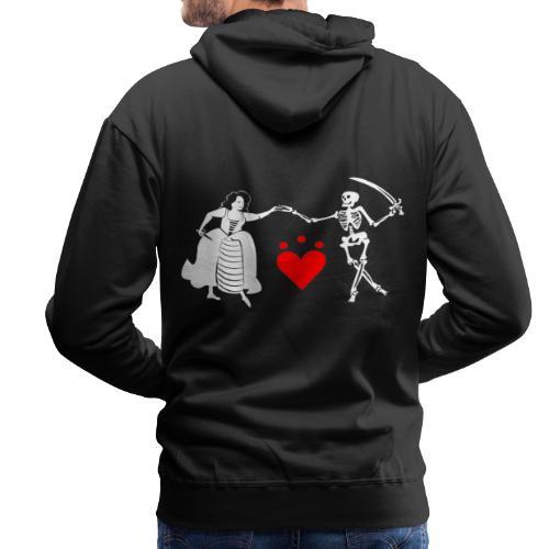 Jacquotte Delahaye - Sweat-shirt à capuche Premium pour hommes