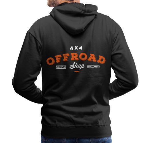 4x4 Offroad Shop logo V1 - Männer Premium Hoodie
