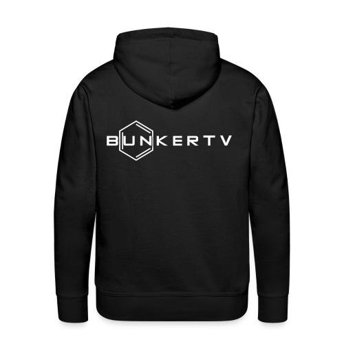 BunkerTV Logo - Männer Premium Hoodie