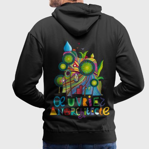 Anarchitecte - Sweat-shirt à capuche Premium pour hommes