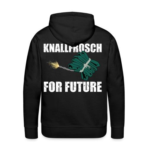 Knallfrosch for Future Pyro - Männer Premium Hoodie