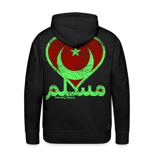 Muslim Heart - Men's Premium Hoodie