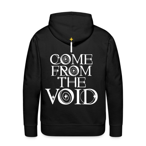 I Come From The Void White - Men's Premium Hoodie