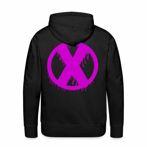 X - Sweat-shirt à capuche Premium pour hommes