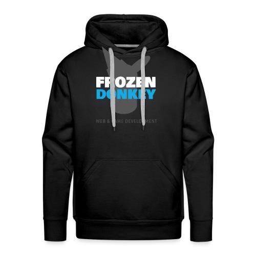 FrozenDonkey Logo Grey - Männer Premium Hoodie