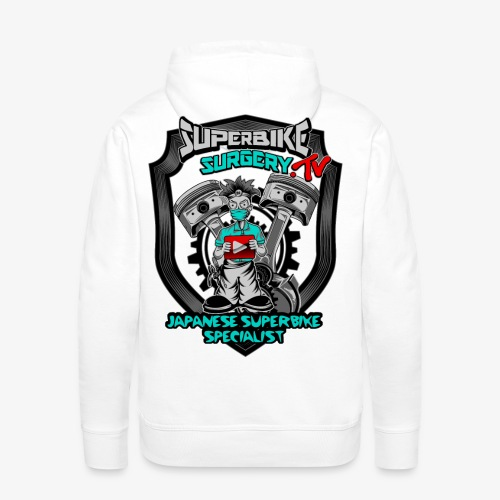 Superbike Surgery TV - Men's Premium Hoodie