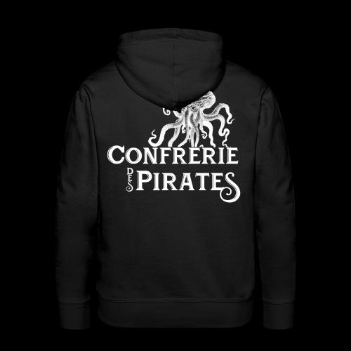 Confrérie des pirates - Sweat-shirt à capuche Premium pour hommes