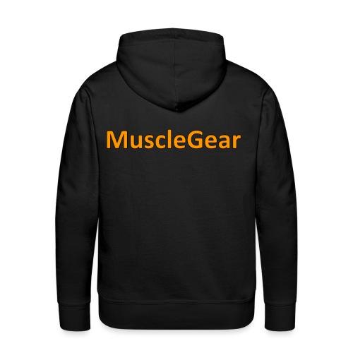 MuscleGear - Herre Premium hættetrøje