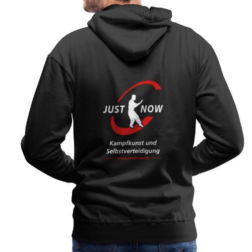 JustKnow - Kampfkunst und Selbstverteidigung - Männer Premium Hoodie