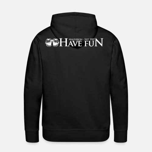 Logo Have Fun Malfurion - Männer Premium Hoodie