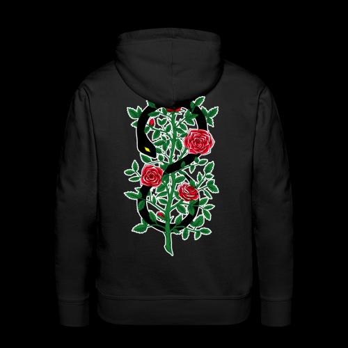 Thorns and Poison - Felpa con cappuccio premium da uomo